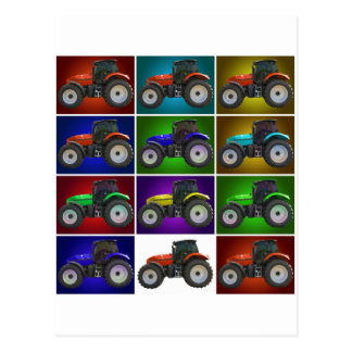 tractor postcards