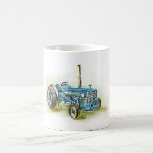 Tractor Print on Mug