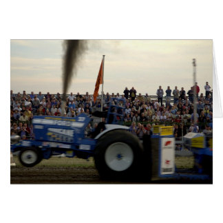 Tractor Pulling #2 Card