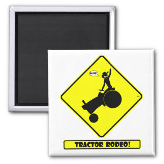 TRACTOR RODEO 1y Fridge Magnets