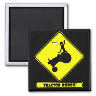 TRACTOR RODEO 1y Fridge Magnet