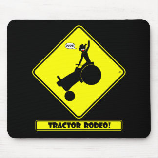 TRACTOR RODEO 1y Mouse Pads