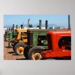 Tractor Row Print