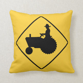 Tractor Sign Cushion