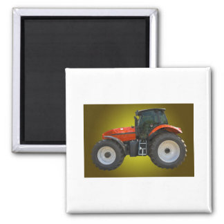 tractor square magnet