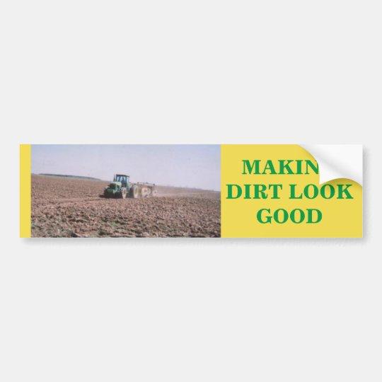 Tractor sticker