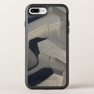 Tractor tire photo OtterBox symmetry iPhone 7 plus case