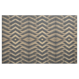 Tractor tire tracks in dirt geometric fabric