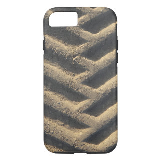 Tractor tire tracks photo case