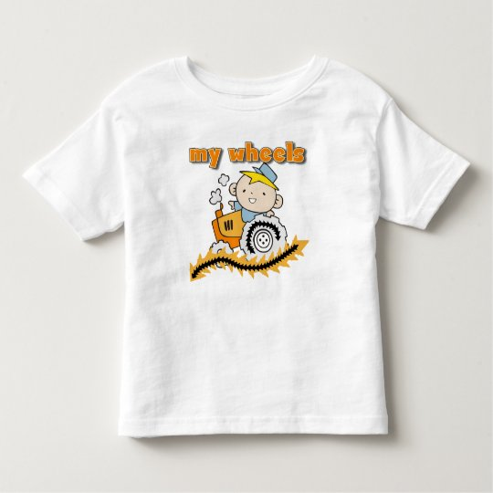 Tractor Toddler T-Shirt