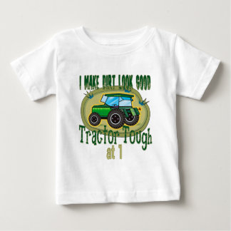 Tractor Tough 1st Birthday Baby T-Shirt