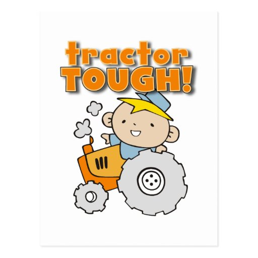 Tractor Tough T-shirts and Gifts Post Cards