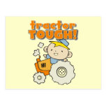 Tractor Tough T-shirts and Gifts Postcard