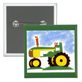 Tractor under Blue Sky Pins