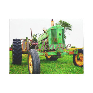 tractor welcome mat