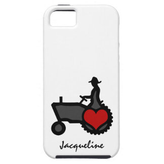 Tractor with Heart  Love the Country Case For The iPhone 5