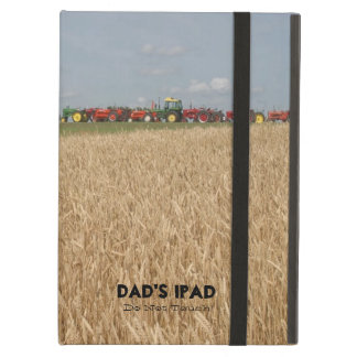 Tractors and Wheat Field Customizable Tablet Cover iPad Air Cover