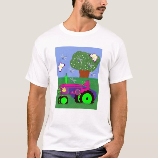 Tractors Aren't Just for Boys! Girls T-shirt