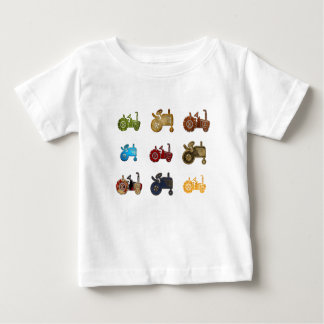 Tractors Baby T-Shirt