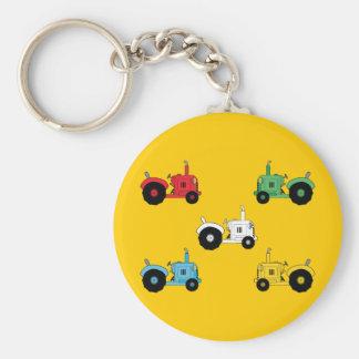 Tractors Key Ring