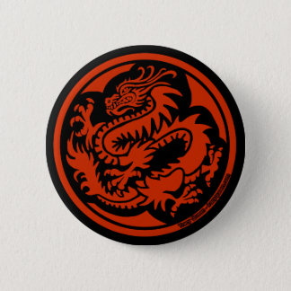 Tracy Queen - Crest of the Dragon Clan Button