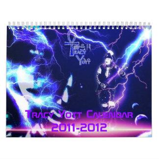 Tracy Yott Calendar 2011-2012