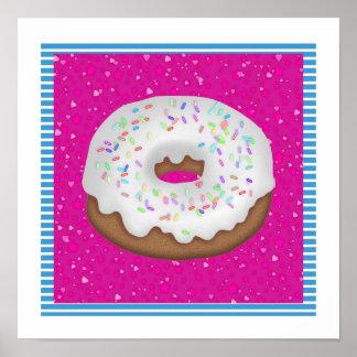 Tracy's Doughnut  Poster - SRF