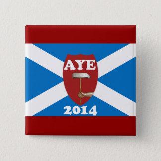 Trade Unionist Scottish Independence Flag Badge