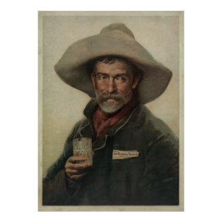 Tradecard for Wiedemann Beer Poster