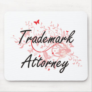 Trademark Attorney Artistic Job Design with Butter Mouse Pad