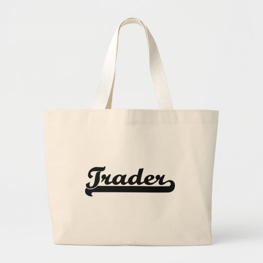 Trader Classic Job Design Large Tote Bag