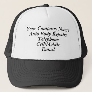 TRADES - AUTO BODY REPAIRS TRUCKER HAT