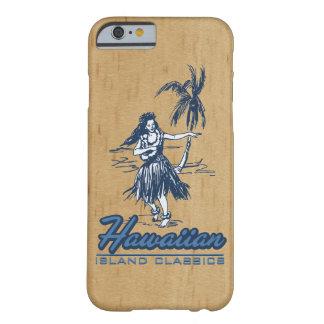Tradewinds Hawaiian Island Hula Girl Faux Wood iPhone 6 Case