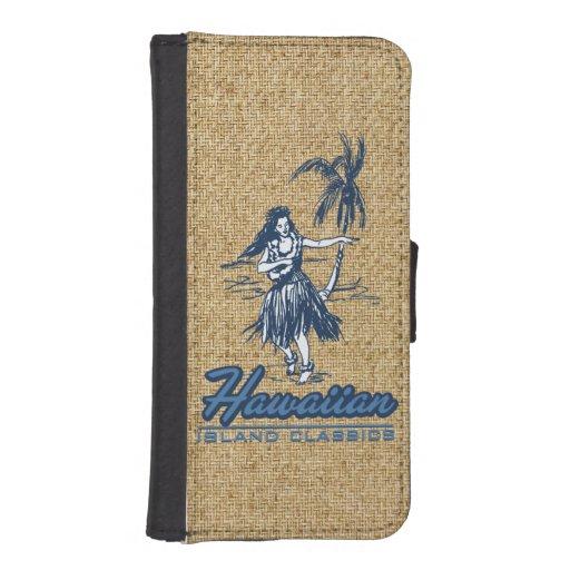 Tradewinds Hawaiian Island Hula Girl iPhone Wallet iPhone 5 Wallet Cases