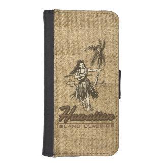 Tradewinds Hawaiian Island Hula Girl iPhone Wallet iPhone 5 Wallet Case