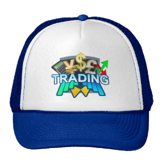 Trading blue Trucker Hat