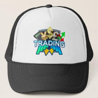 Trading dark Trucker Hat