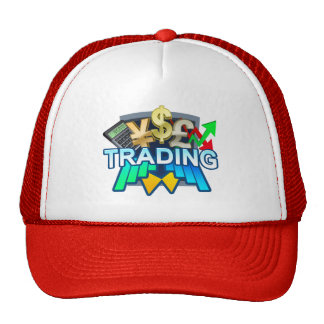 Trading red Trucker Hat