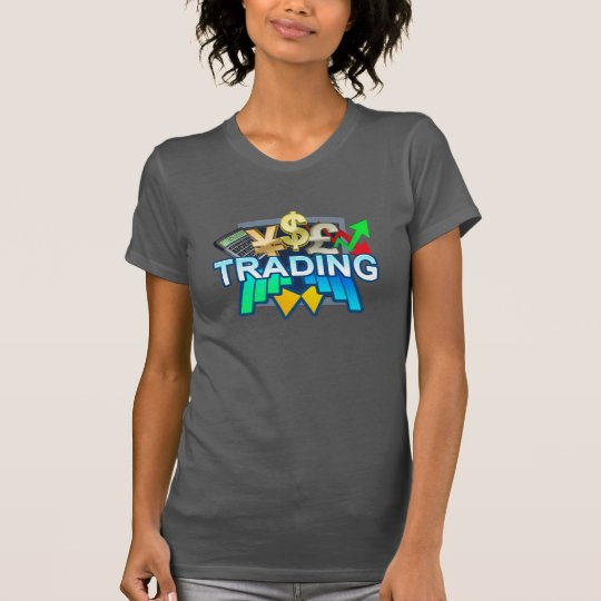 Trading Women's grey T-shirt