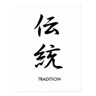 Tradition - Dentou Postcard