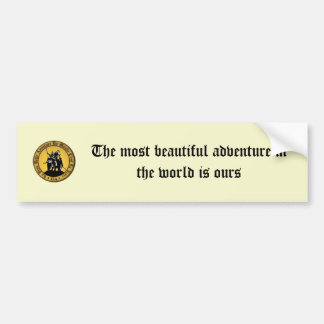 Tradition In Action - Non Official Bumper Sticker