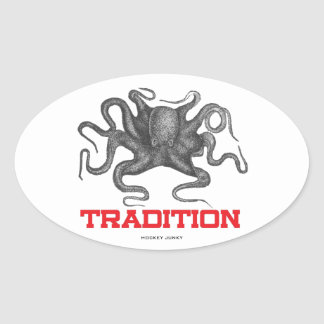 TRADITION OVAL STICKER