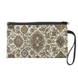 Tradition vintage tapestry. wristlet purse