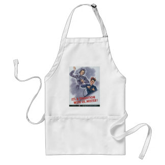 Tradition With Us World War II Adult Apron