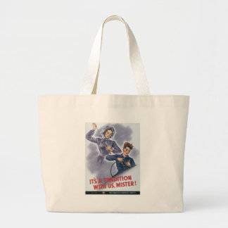 Tradition With Us World War II Canvas Bags