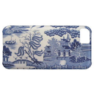 Traditional 19th Century Blue Willow China Case Cover For iPhone 5C