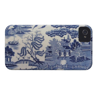 Traditional 19th Century Blue Willow China iphone4 iPhone 4 Cover