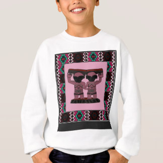 Traditional African art designs Sweatshirt