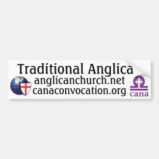 Traditional Anglican Bumper Stickers