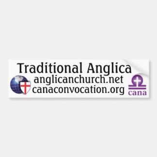 Traditional Anglican Bumper Sticker